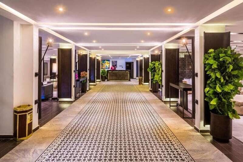 À l'intérieur d'Azalaï Hôtel Nouakchott
