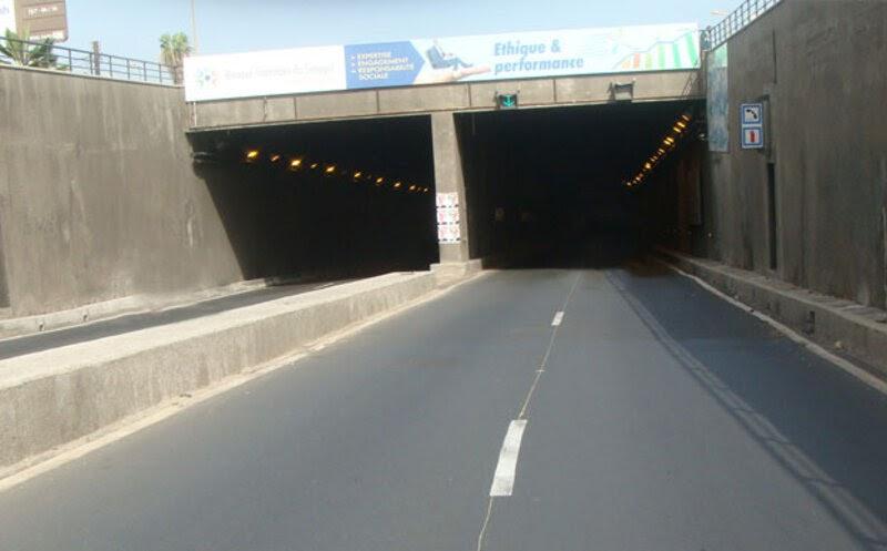 Construction d'ouvrages d'art, tunnel CDE