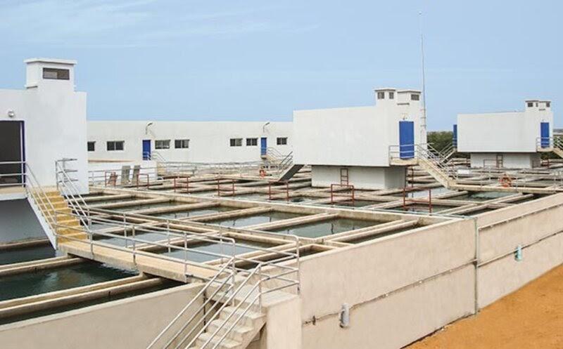 Installation de traitement des eaux CDE