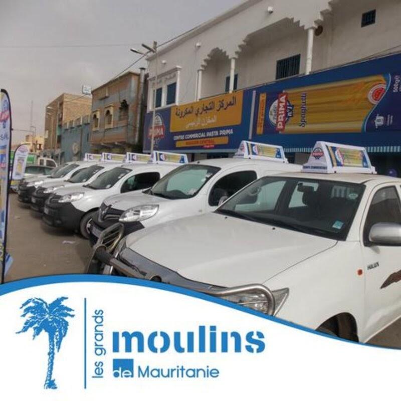 Distribution directe Grands Moulins de Mauritanie