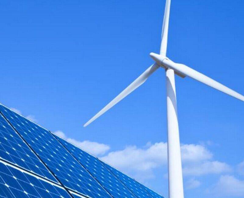 Énergie solaire et énergie éolienne