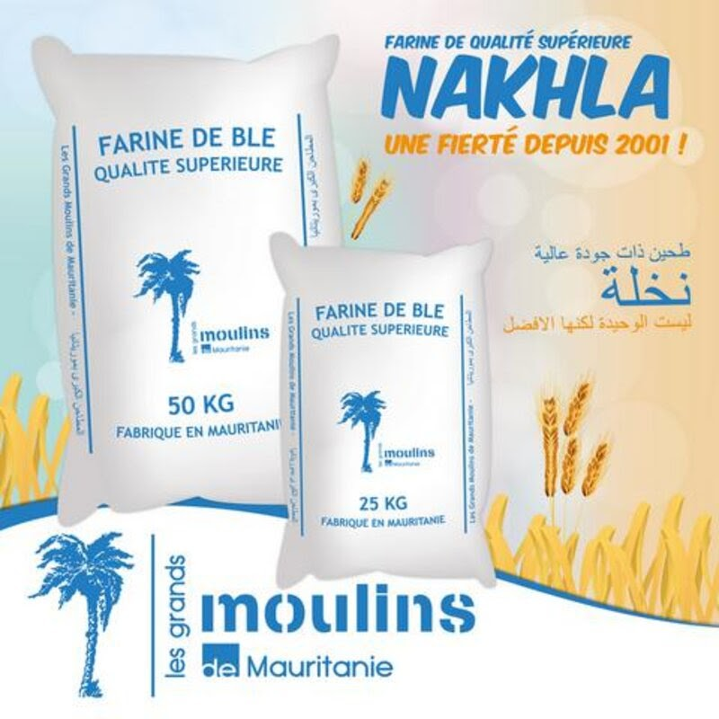 Farine Grands Moulins de Mauritanie