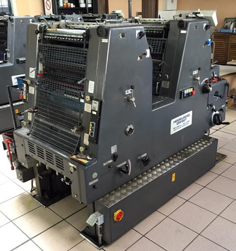 Imprimante offset Heidelberg Al Mazaya