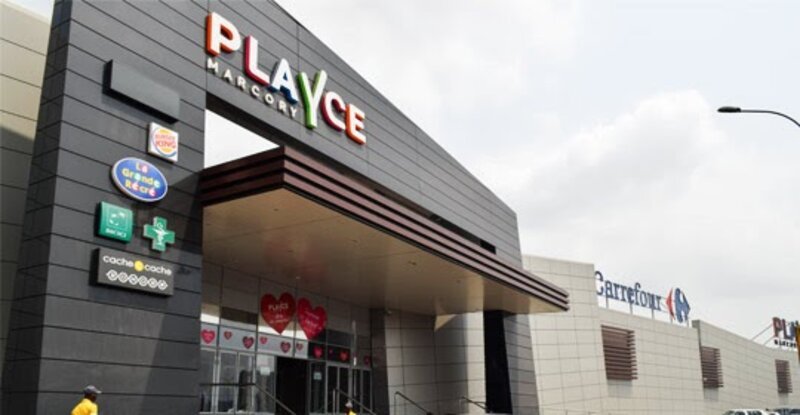 Le centre commercial Playce CFAO