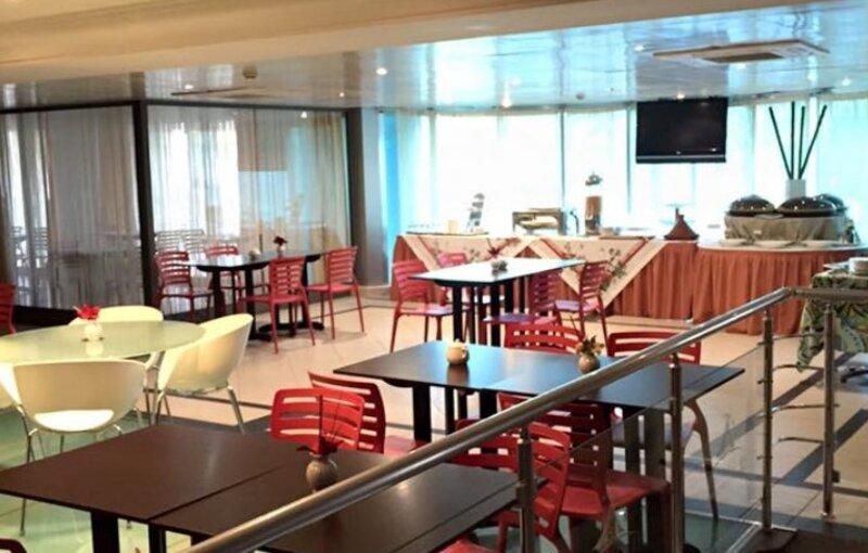 Le restaurant de l'hôtel Al Khaima City Center