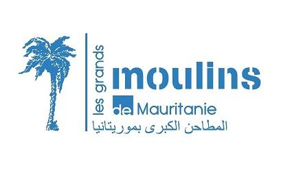 Logo grands moulins de Mauritanie