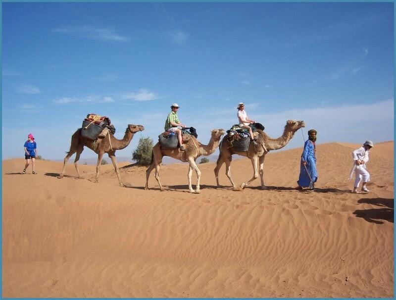Méharée à dos de chameau Somasert