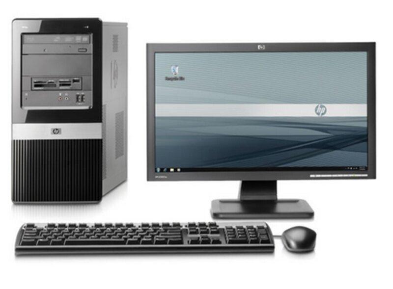 L'ordinateur de bureau format microtour de HP CDI