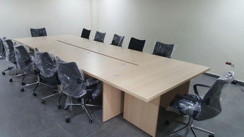 Bureau pour les réunions Nosomaci