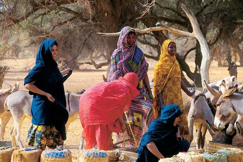 Trekking, découverte de la population mauritanienne Somasert
